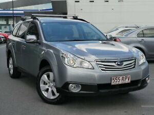 2010 Subaru Outback B5A MY11 2.5i Lineartronic AWD Steel Silver 6 Speed Constant Variable Wagon