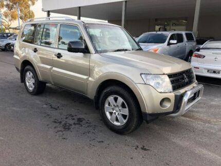 2007 Mitsubishi Pajero NS GLX Gold 5 Speed Sports Automatic Wagon Hoppers Crossing Wyndham Area Preview