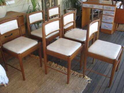 !!SALE!! Mid Century Modern Cigar Leg Chairs