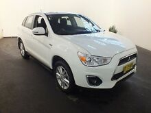 2014 Mitsubishi ASX XB MY14 (2WD) White Continuous Variable Wagon Clemton Park Canterbury Area Preview