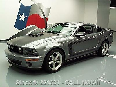 2007 ford mustang saleen h281 heritage 5spd leather 31k texas direct auto certified pre owned. Black Bedroom Furniture Sets. Home Design Ideas