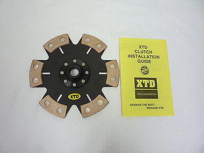 XTD STAGE 4 CLUTCH DISC HONDA S2000 ALL MODEL