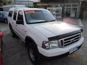 2005 Ford Courier Ute New Town Hobart City Preview