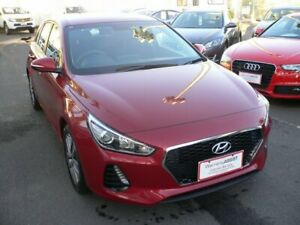 2017 Hyundai i30 PD MY18 Active Red 6 Speed Sports Automatic Hatchback Melrose Park Mitcham Area Preview