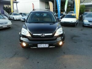 2009 Honda CR-V MY07 (4x4) Luxury Black 5 Speed Automatic Wagon Coorparoo Brisbane South East Preview