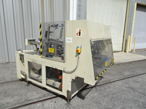 Delkor 752 Dual-Mandrel Tray Former w/ Nordson Hot Melt Glue