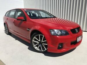 2010 Holden Commodore VE MY10 SS V Sportwagon Red 6 Speed Sports Automatic Wagon Mundingburra Townsville City Preview