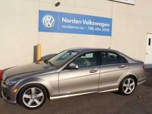 2009 Mercedes Benz C-Class C300 4MATIC AWD - LEATHER / SUNROOF
