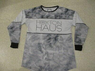 Hoxton Haus grey long sleeved shirt top adult size
