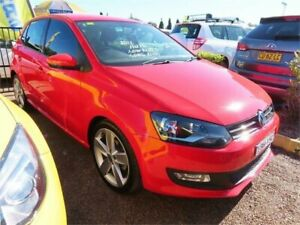 2013 Volkswagen Polo 6R MY13.5 77TSI Comfortline Red Sports Automatic Dual Clutch Hatchback Minchinbury Blacktown Area Preview