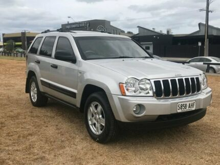 2008 Jeep Grand Cherokee WH MY2007 Laredo Silver 5 Speed Automatic Wagon Mile End South West Torrens Area Preview