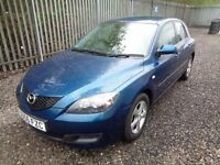 MAZDA 3 1.6 TS 2006 5 DOOR HATCHBACK BLUE 113,000 MILES MOT TILL 02/02/18 NO ADVISORIES ONE OWNER