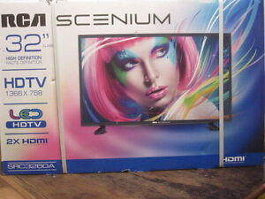 """RCA 32"""" TV - BRAND NEW / SEALED IN BOX"""