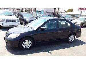 2005 Honda Civic Sdn SE AS IS