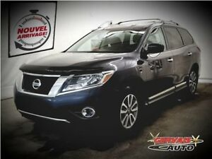 Nissan Pathfinder SL AWD Cuir MAGS 7 Passagers 2014