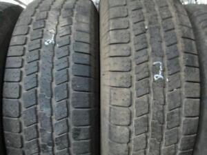 265/70R17 GOODYEAR 2 ONLY MATCHING USED GOODYEAR A/S TIRES