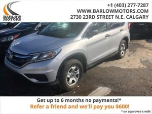 2016 Honda CR-V LX CLEAN CAR FAX NO ACCIDENTS AWD FULLY INSPECTE