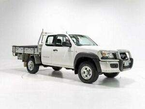 2008 Mazda BT-50 B3000 Freestyle DX+ (4x4) White 5 Speed Manual Cab Chassis Cooee Burnie Area Preview