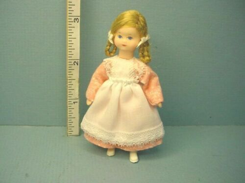Miniature Young Girl Dollhouse Doll Charlotte #10104 Erna Meyer 1/12th