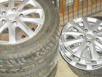 Peugeot Steels wheels & tyres