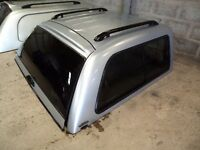 Mitsubishi L200 double cab pick up canopy