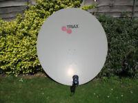 Satellite Dish + Motor + LNB