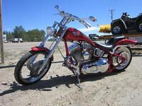 2001 Rolling Thunder Soft tail chopper