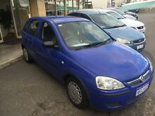2005 Holden Barina XC MY05 115000KM Blue 5 Speed Manual Hatchback Wangara Wanneroo Area Preview