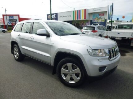 2011 Jeep Grand Cherokee WK MY2011 Laredo Silver 5 Speed Sports Automatic Wagon Bungalow Cairns City Preview