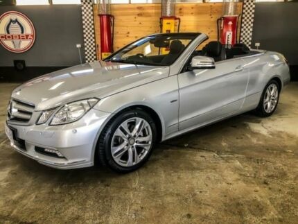 2010 Mercedes-Benz E250 207 CGI Avantgarde Iridium Silver 5 Speed Automatic Cabriolet Fyshwick South Canberra Preview