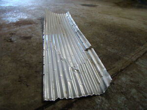 Aluminum Roofing Panels Used