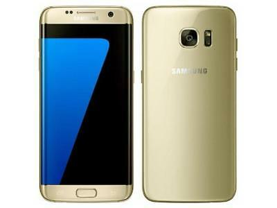 Samsung Galaxy S7 Edge 6356A Smartphone 32GB Memory Unlocked for AT&T - Gold Pla