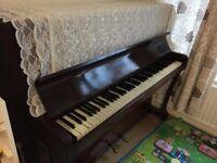 BRASTED London UPRIGHT PIANO