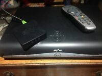FOR SALE - 2 SKY HD boxes and 2 controllers