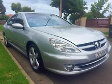 2005 Peugeot 607 MY05 Silver 6 Speed Sports Automatic Sedan North Brighton Holdfast Bay Preview