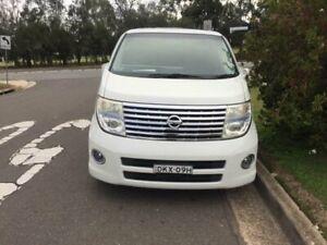 2007 Nissan Elgrand White Automatic Wagon Merrylands Parramatta Area Preview