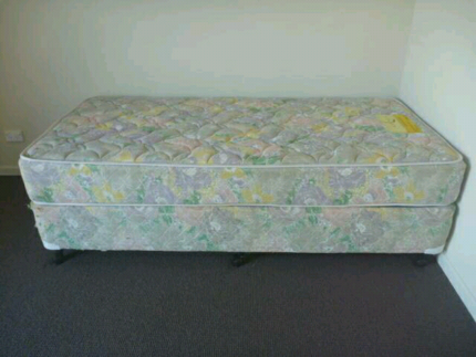 Two single bed plus mattress for sale