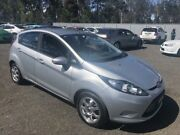 2010 Ford Fiesta WS CL Silver 4 Speed Automatic Hatchback Richmond Hawkesbury Area Preview