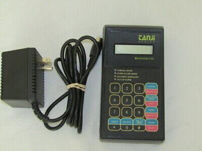 Tanji Designs Boomerang Small Electron Fax Machine Device