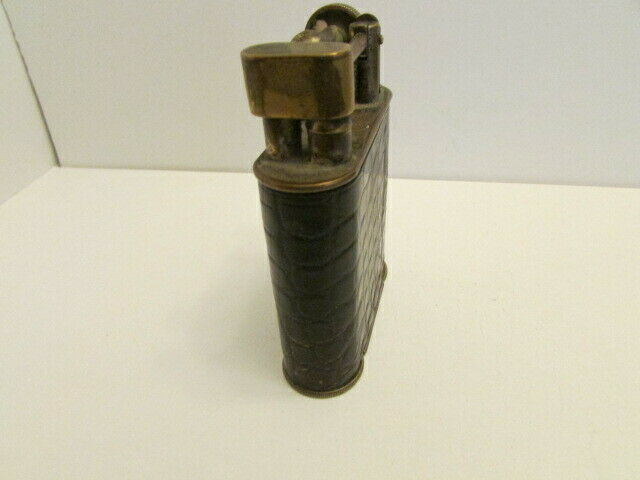 VINTAGE LARGE MAPPIN WEBB BRASS LEATHER ARM LIGHTER - $246.99