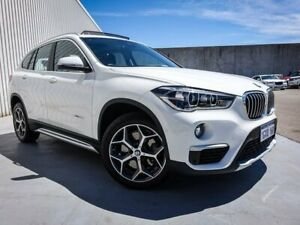 2016 BMW X1 F48 xDrive20d Steptronic AWD White 8 Speed Sports Automatic Wagon Canning Vale Canning Area Preview