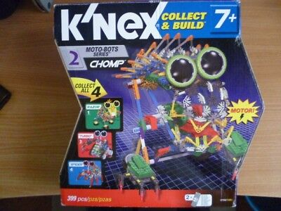 K'NEX Moto-Bots Series 2 CHOMP Set 12154 Complete with Motor for sale  Cleethorpes