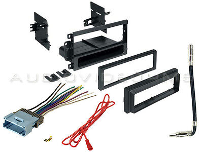 Radio/Stereo Installation Dash Kit for 2000-2011 Select GM Vehicles + Harness