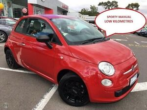 2014 Fiat 500 Series 1 POP Red 5 Speed Manual Hatchback Greensborough Banyule Area Preview