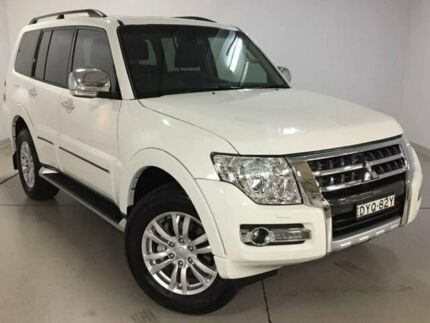 2017 Mitsubishi Pajero NX MY18 Exceed White 5 Speed Sports Automatic Wagon Chatswood Willoughby Area Preview