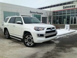 2018 Toyota 4Runner Limited 7-Pass, Nav, Leather, Heated and Ven