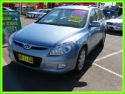 2009 Hyundai i30 FD MY09 SLX cw Wagon Blue 4 Speed Automatic Wagon Minchinbury Blacktown Area Preview