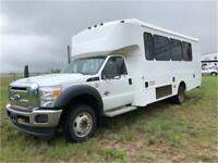 2011 Ford Super Duty F-550 DRW XL 4x4 20 passenger bus. Red Deer Alberta Preview