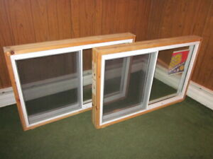 New Unused Vinyl  Windows
