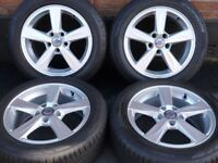 "Genuine 16"" Volvo V40 (New Model) Alloys Alloy Wheels Tyres 5x108pcd S40 C30 Fits Ford Models"